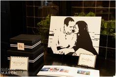 Suzanna March Photography #AldenCastle #ModernVintage #Wedding #GuestBook