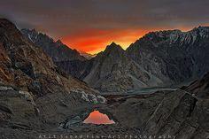 Passu lake, Passu, Gilgit, Pakistan