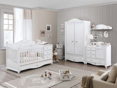 Cilek SOFTY Babyzimmer Kinderzimmer Set Komplettset Spielzimmer Weiß