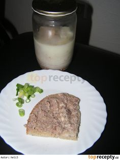 Játrová paštika domácí Glass Of Milk, Steak, French Toast, Breakfast, Food, Morning Coffee, Essen, Steaks, Meals