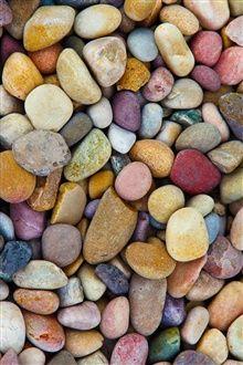 Beaucoup de pierres, cailloux colorés iPhone Fond d'écran Aperçu