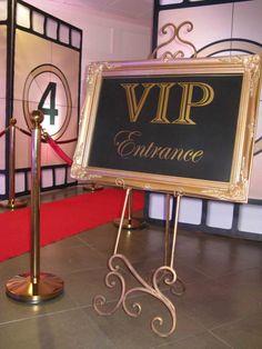 VIP Entrance Sign