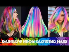 24 Wonderful Rainbow Hair Color Ideas - Hairiz