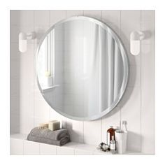 IKEA - RONGLAN, Mirror, , Safety film  reduces damage if glass is broken.Can be used in high humidity areas.