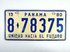 PKW-Schild Panama