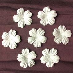Wild Orchid Crafts offers paper flowers for craftmaking, wedding, table and interior decorations Wild Orchid, Paper Flowers, Cardmaking, Orchids, Bloom, Scrapbook, Crafts, Foundation, Products