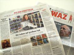Passend zum Jubiläum ist die Presse reingeschneit -am 06.09.2013 dann der tolle Artikel in der WAZ und in der NRZ :)