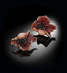 Palmiero Jewellery Design 'Flowers Poppy'
