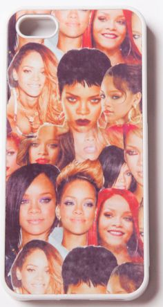 Rihanna iPhone Case: http://shop.nylonmag.com/collections/whats-new/products/rihanna-iphone-case #NYLONshop
