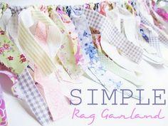 Simple rag garland