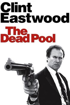 THE DEAD POOL (1988) - Clint Eastwood as 'Dirty Harry' - Directed by Clint Eastwood - Warner Bros. - DVD cover art.