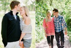 A beautifully beautiful engaged couple<3
