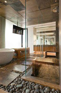 luxury zen | Bathroom. Homesandlifestylemedia.com #bathroom #design