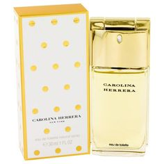 CAROLINA HERRERA by Carolina Herrera Eau De Toilette Spray 1 oz - Natural Peach naturalpeach.com