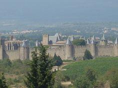 Carcasonne, France http://en.wikipedia.org/wiki/Carcassonne
