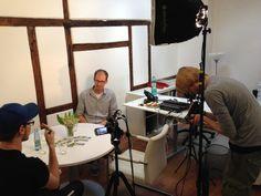 Das erste Interview der Tour findet gerade mit #Wattfuehrer Ralf Hensel in #Hamburg statt! #WattWiki