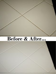 No discussion of a truly clean kitchen or bathroom would be complete without addressing the great importance of cleaning and maintaining your tile and … Clean Grout, Grout Cleaning, Cleaning Hacks, How To Clean Carpet, Tiles, Household, Bathroom, Craft, Simple