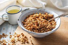 Quick and easy homemade granola recipes Granola, Nutritious Meals, Recipe Of The Day, Fall Recipes, Brunch, Tasty, Homemade, Snacks, Breakfast