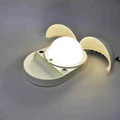 GPA Monti Tapira lamp for Fontana Arte 1974