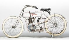 This 1910 Harley-Davidson Single (Lot F31) is estimated to fetch between $80,000 and $90,000