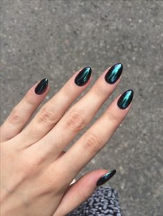 20 New Nail Designs Pictures 2018 - Fancy Nails Love Nails Pretty Nails My Nails Minimalist Nails Nail Visit December 2018 Dark Nails, Blue Nails, Glitter Nails, Dark Color Nails, Matte Nails, Gold Nails, Dark Nail Art, Metallic Nails, Colorful Nail Designs