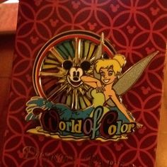 World of Color - the best way to watch this is from your hotel room at Paradise Pier Disney Trading Pins, Disney Pins, Disney Pin Collections, Disney California Adventure, Disneyland Resort, World Of Color, Pixar, My Arts, Disney Magic