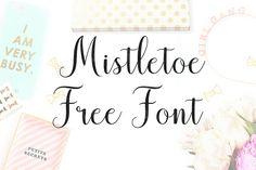DLOLLEYS HELP: Mistletoe Free Font