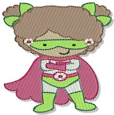 Embroidery | Free Machine Embroidery Designs | Bunnycup Embroidery | Superheros