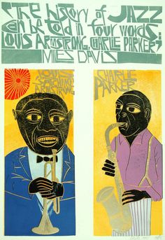 In 1979, artist and designer Paul Peter Piech incurred the wrath of the U.S. Embassy in London, which objected to his use of the American flag in a poster. In Illustrations, Illustration Art, Jazz Poster, Protest Posters, Jazz Art, Creative Review, Cool Posters, Music Posters, Art Graphique