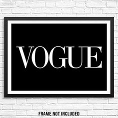 Sincerely, Not Trendy Fashion Magazine Art Print Chic Wall Decor Poster 11″x14″ UNFRAMED Minimalist Typography Artwork for Bedroom Living Room Entryway or Home Office (Option 5) Male To Female Transition, Bedroom Artwork, Cool Typography, Condo Decorating, Magazine Art, Artwork Prints, Trendy Fashion, Minimalist, Wall Decor