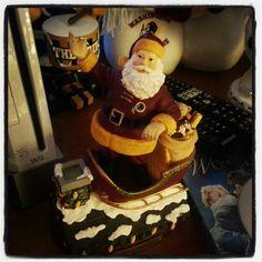 Santa is a Redskins fan #httr