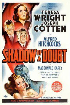 La sombra de una duda - Shadow of a Doubt (1943) | Ingenua intriga entorno a la mentira...