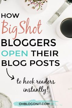 What are the first words your reader sees when they open your blog posts?Do you have a strategy or are you just winging it? #blogger #blog #content