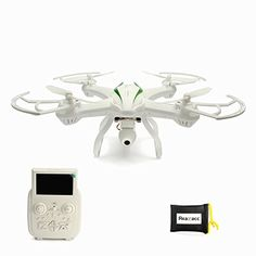 REALACC Cheerson CX35 500M FPV Quadcopter Drone With 2MP Camera Gimble High Hold Quadcopter Mode Switch 2 White * See this great product.