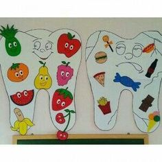 Toddler and kindergarten health activities, dental activities for preschool, Preschool Classroom, Classroom Activities, Preschool Activities, Preschool Food Crafts, Preschool Shapes, Classroom Helpers, Classroom Ideas, Community Helpers Preschool, Dental Health Month