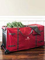 Christmas Tree Storage Bags | Balsam Hill #MyBalsamHillHome