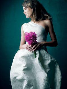 J. Crew wedding dress.