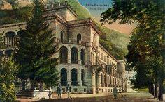Baile Herculane - Hotelul Carol  - 1913