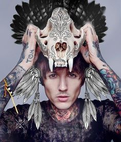 Front Magazine Cover – Oli Sykes so much yes Oliver Sykes, Emo Bands, Music Bands, Front Magazine, Mallory Knox, Emerson Barrett, Bae, Under Your Spell, Bring Me The Horizon