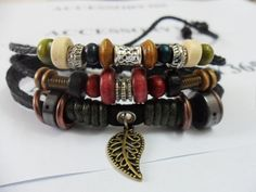 Men Women Wristband cuff bracelet friendship by braceletcool, $7.50