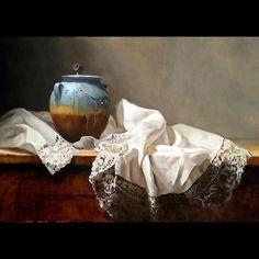 French Lace by Deborah Elmquist Oil - 20 x 28
