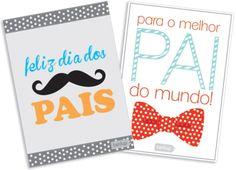 Cartão de Dia dos Pais para Imprimir
