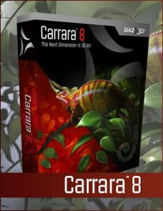 Carrara 8 Upgrade