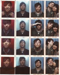 More photobooth shots of Jamie. That's Alison's mom with him in the righthand column, AWWWWW Alison Mosshart, Music Do, My Buddy, Aerosmith, Photo Booth, Mom, People, Movie Posters, Color