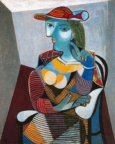 Pablo Picasso, Portrait of Marie-Thérèse Walter,1937