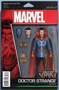 Doctor Strange Vol 4 12 Action Figure Cover Variant John Tyler Christopher