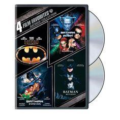 Batman Collection: 4 Film Favorites (Widescreen)