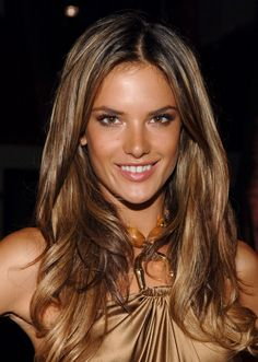 Great caramel hair and honey highlights
