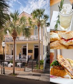 """Poogan's Porch in Charleston. The Blog Series """"Top 5 Restaurant Picks"""" continues with Charleston restaurants! Read what a Charleston blogger had to say about which restaurants and foods you should try in Charleston South Carolina!"""