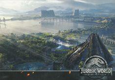Jurassic World Fallen Kingdom concept art